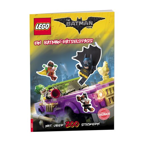THE LEGO® BATMAN MOVIE. Ein Batman™-Rätselspaß
