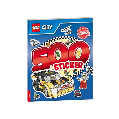 LEGO® CITY. 500 Sticker Band 2