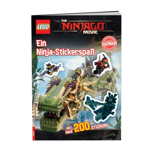 THE LEGO® NINJAGO® MOVIE™. Ein Ninja-Stickerspaß