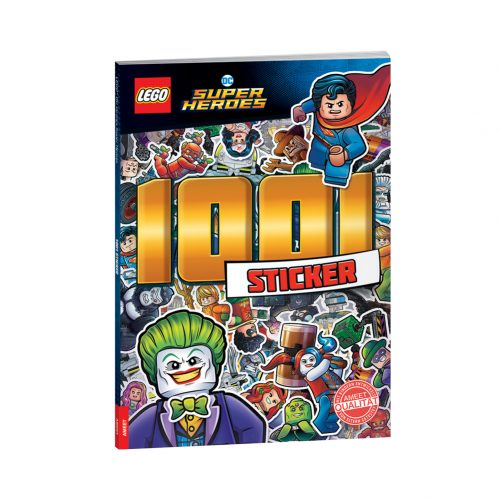 LEGO® DC COMICS SUPER HEROES. 1001 Sticker