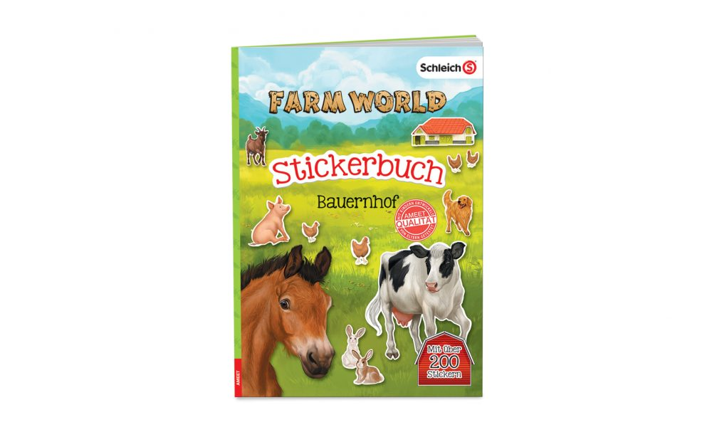 SCHLEICH® Farm World. Stickerbuch Bauernhof