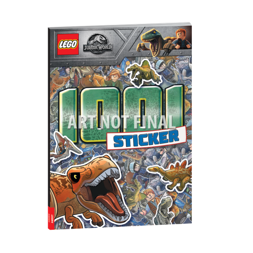 LEGO® Jurassic World. 1001 Sticker