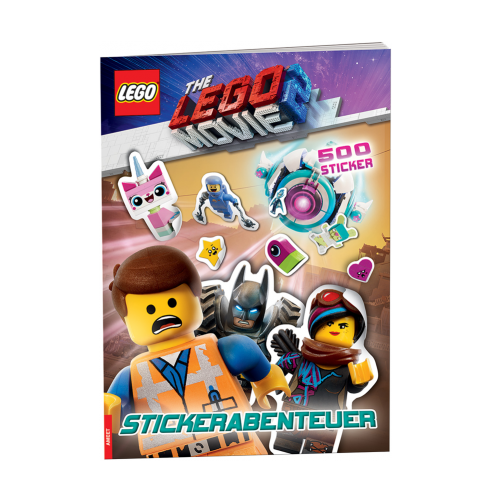 The LEGO® Movie 2™. Stickerabenteuer