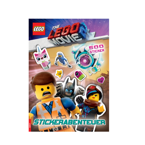 LEGO® The LEGO Movie 2™. Stickerabenteuer