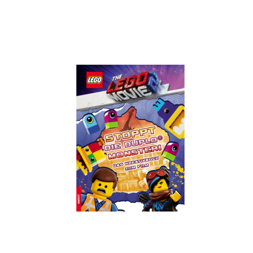 LEGO® The LEGO Movie 2™. Stoppt die DUPLO® Monster – Das Kreativbuch zum Film