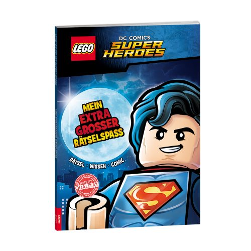 LEGO® DC COMICS SUPER HEROES. Mein extragroßer Rätselspaß