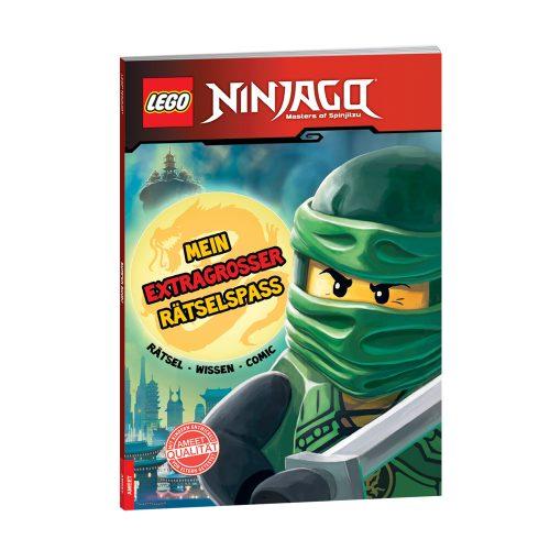 Meine LEGO® NINJAGO ® Mein extragroßer Rätselspaß