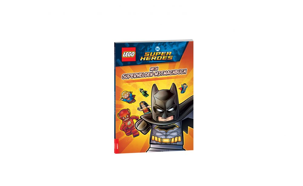 LEGO® DC COMICS SUPER HEROES. Mein Superhelden-Mitmachbuch
