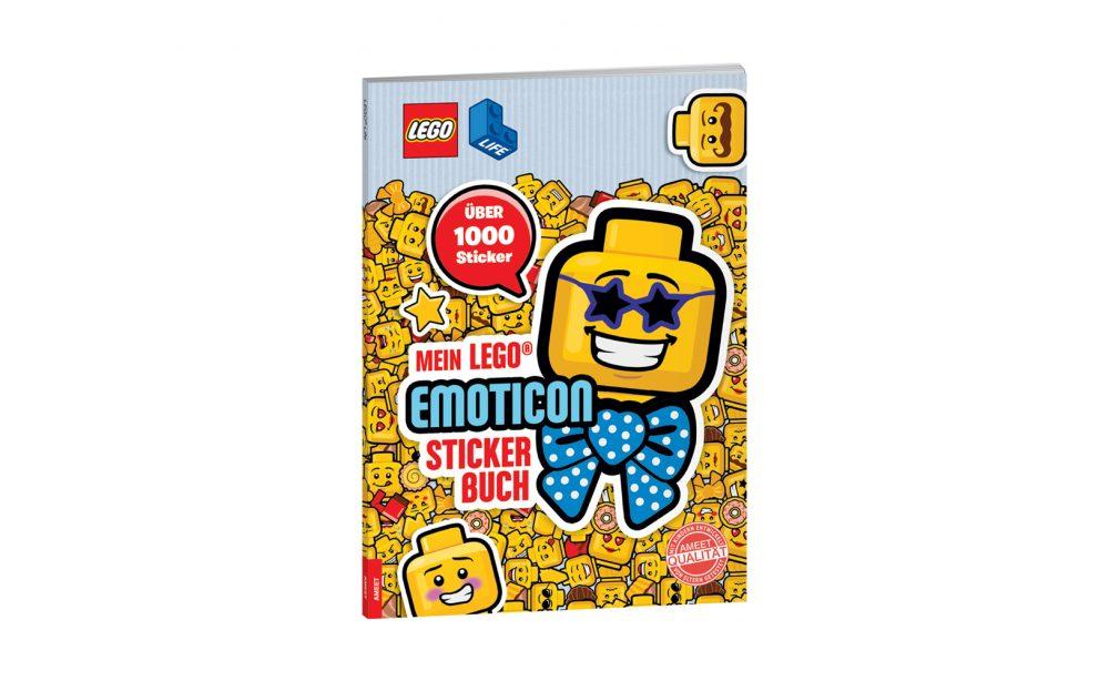 LEGO® Life™. Mein LEGO® Emoticon-Stickerbuch