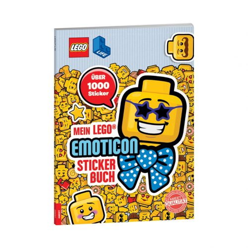 LEGO® Life™. Mein LEGO® Emoticon-Stickerbuch