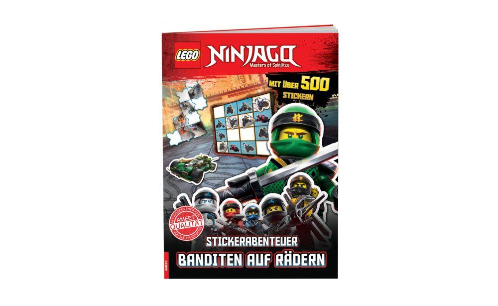 LEGO® NINJAGO ® Stickerabenteuer - Banditen auf Rädern