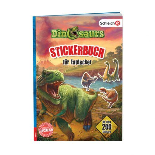 SCHLEICH® Dinosaurs. Stickerbuch für Entdecker