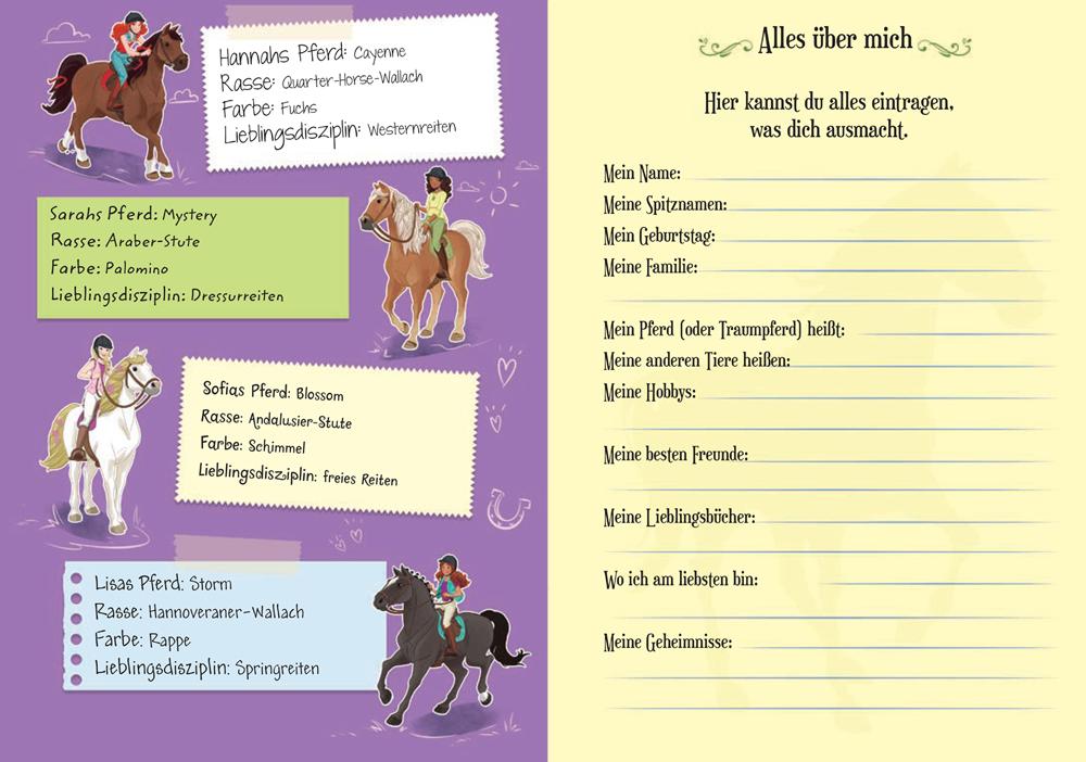 schleich® horse club mein tagebuch  ameet verlag
