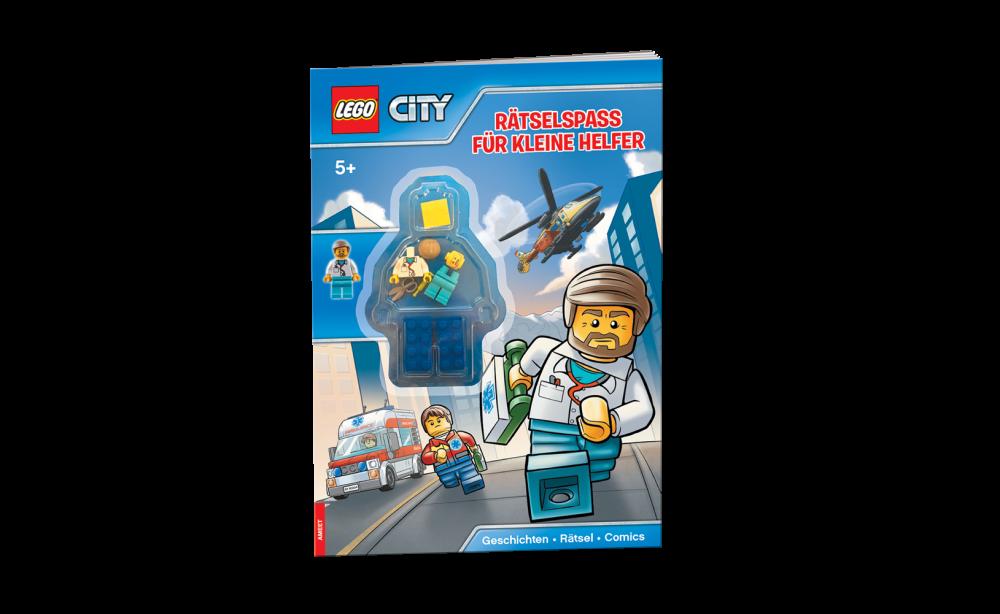 LEGO® City. Rätselspaß für kleine Helfer