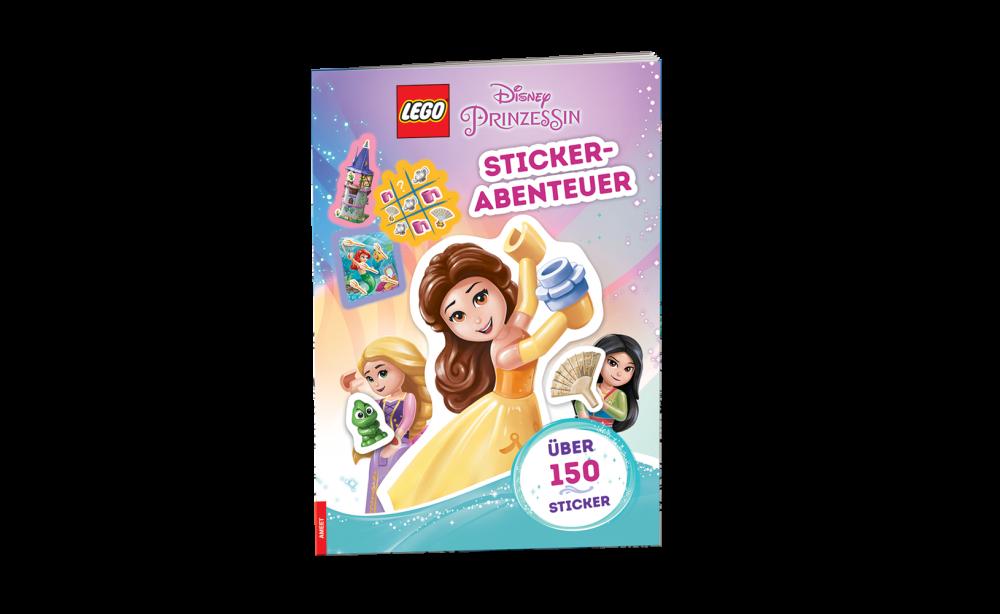 LEGO® Disney Prinzessin™. Stickerabenteuer