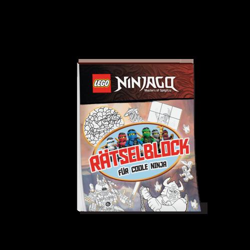 LEGO(R) NINJAGO(R) Rätselblock für coole Ninja