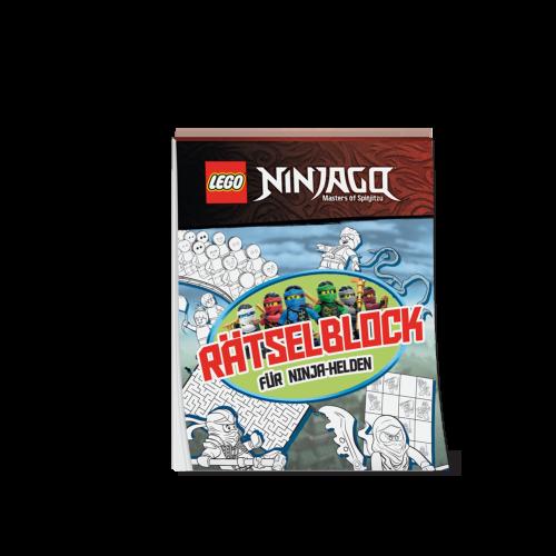 LEGO(R) NINJAGO(R) Rätselblock für Ninja-Helden