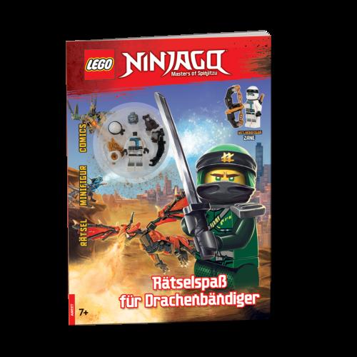 LEGO® NINJAGO®. Rätselspaß für Drachenbändiger
