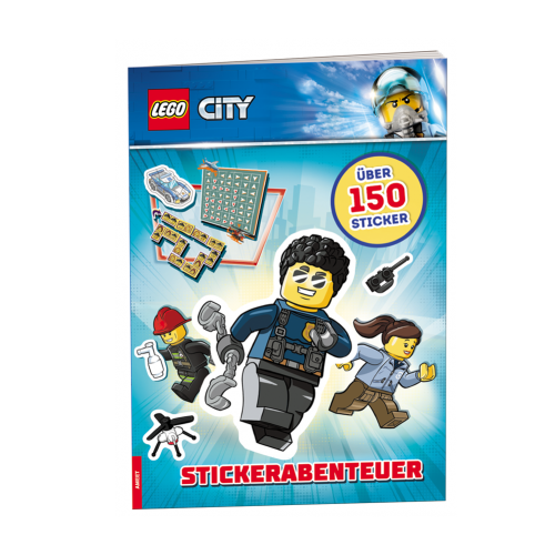 LEGO City. Stickerabenteuer