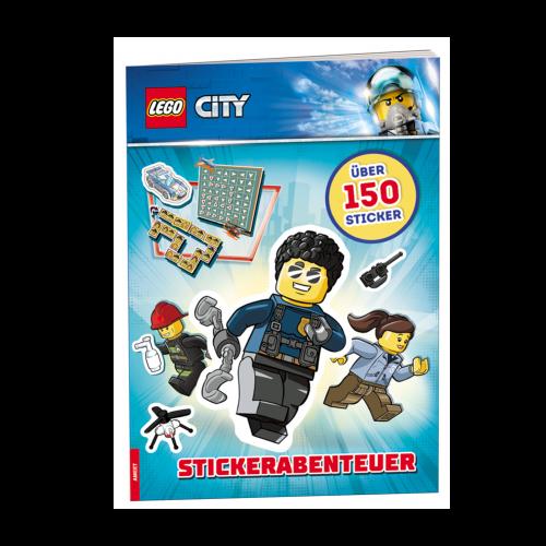 LEGO City. Stickerabenteuer