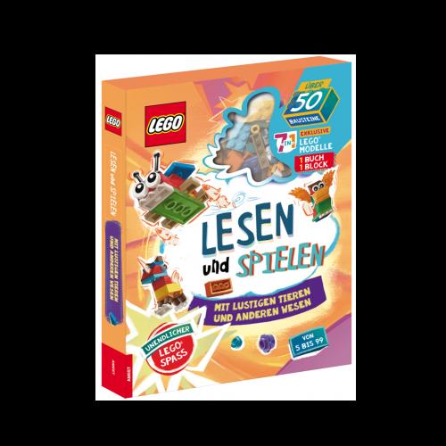 LEGO. Lesen und spielen mit lustigen Tieren und anderen Wesen
