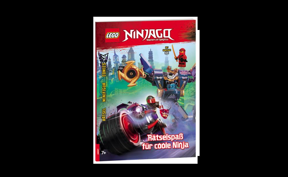 LEGO NINJAGO. Rätselspaß für coole Ninja