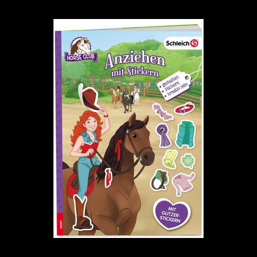 Schleich Horse Club. Anziehen mit Stickern