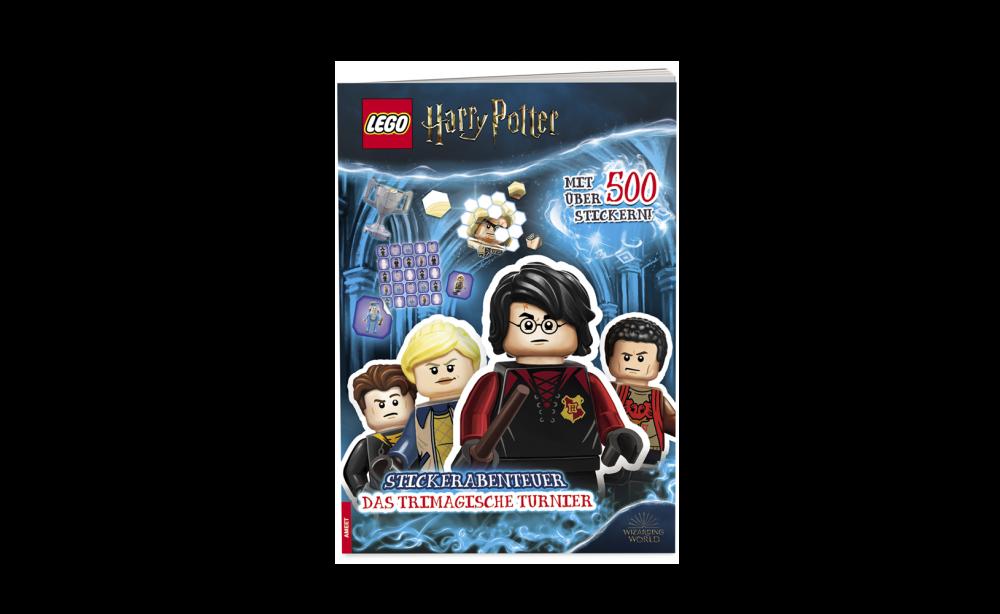 LEGO Harry Potter Stickerabenteuer Cover Los stickern!