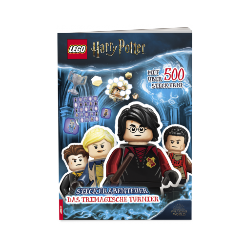 LEGO Harry Potter Stickerabenteuer Cover Los stickern!