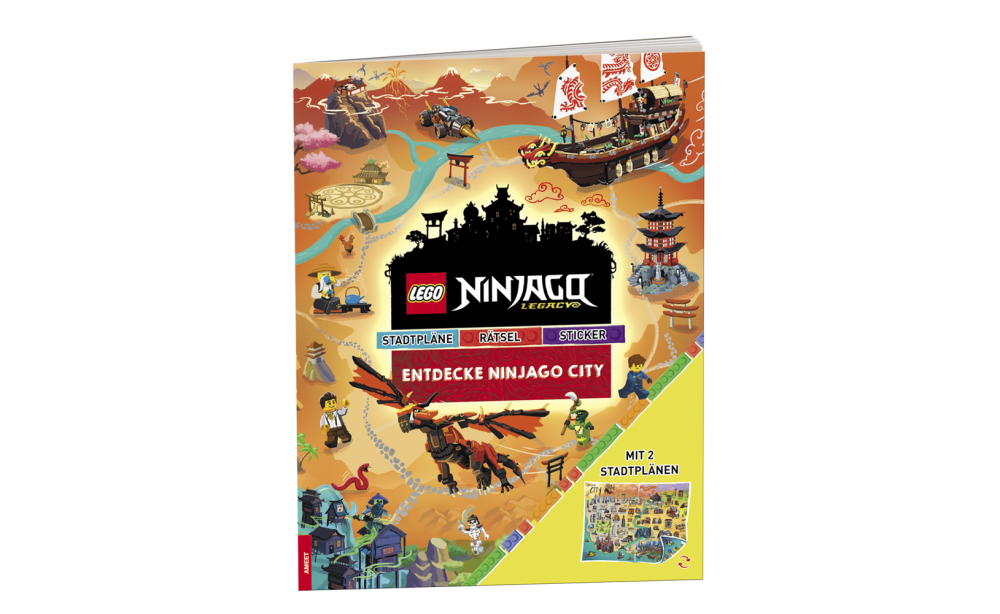 LEGO NINJAGO Entdecke Ninjago City Cover