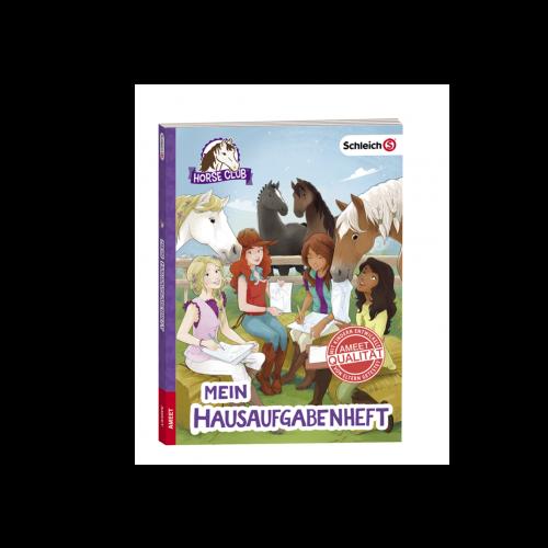 Schleich Horse Club Hausaufgabenheft Cover