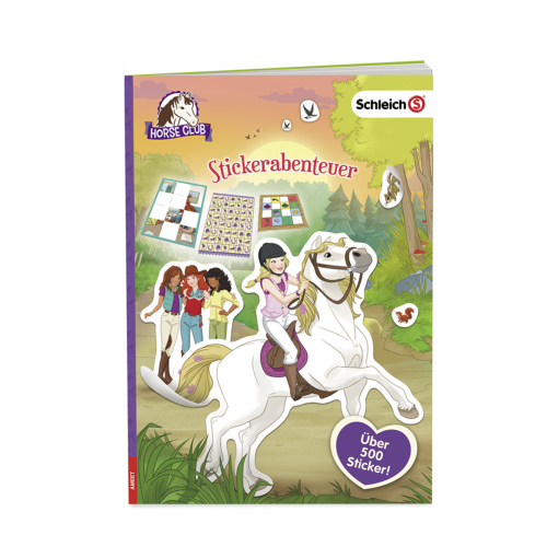 Schleich Horse Club Stickerabenteuer Cover