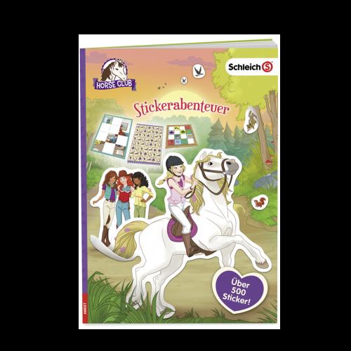 Schleich Horse Club Stickerabenteuer Cover