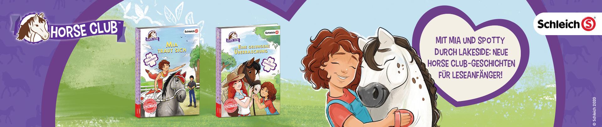 Schleich Horse Club Neue Bücher