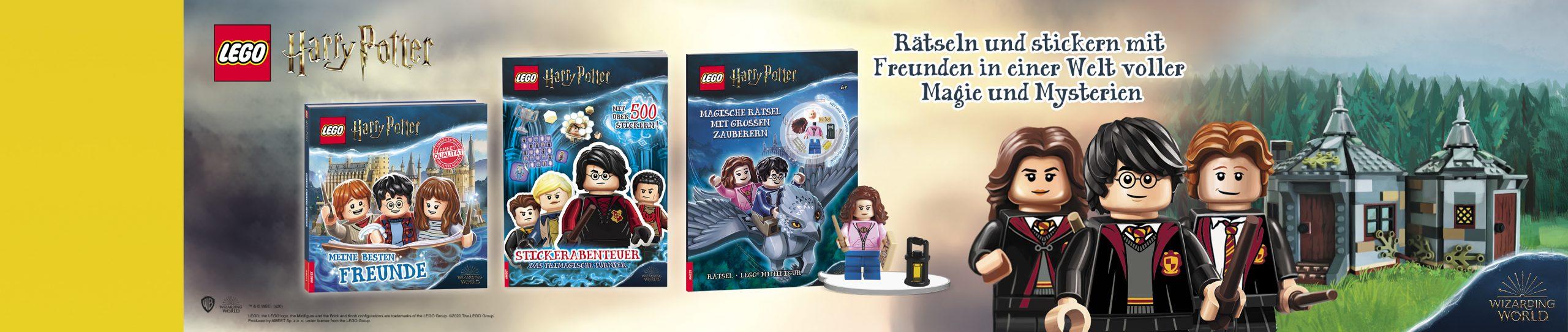 LEGO Harry Potter Neue Bücher